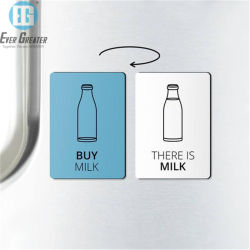 PVC personnalisée des aimants de réfrigérateur/réfrigérateur aimant