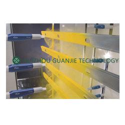 中国の製造業者のアルミニウムプロフィールのための自動粉のコーティングライン装置