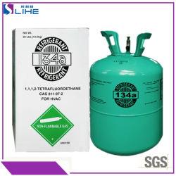 El 99,9% de pureza coche Aire acondicionado Gas 134A&R134A&refrigerantes HFC-134A