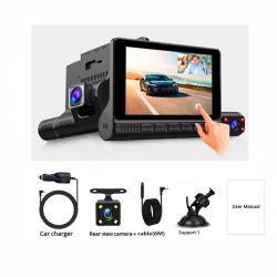 4 台の赤外線カメラ DVR レンズビデオレコーダー車のダッシュカメラ 170 広角ナイトビジョンビデオカメラ
