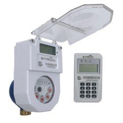 Class C STS Multi-Jet Split Keypad Prepaid Wassermessgerät mit CIU DN25