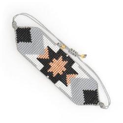Mlgm Star Armband für Mädchen Schmuck 2021 Mode Böhmische Miyuki Perlen Schmuck Loom Nachahmung Handmade Armreifen und Armbänder breiten Wrap Armband