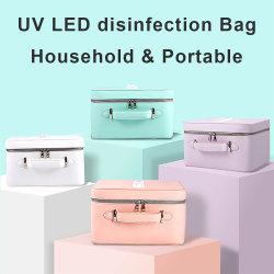 UV portátil Lámpara de luz LED UVC Desinfección Esterilización Esterilizador de verificación