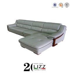 Fábrica de China casa/oficina/Hotel muebles de cuero Sofá Seccional de la servidumbre