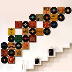 실내와 가정 훈장을%s 영화 디스크 그리고 Crative 바퀴 벽 예술