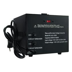 1000W de Stap van de transformator - onderaan Convertor 110 aan 220V