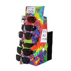 Visualizzazione pieghevole della contro parte superiore del cartone di stampa in offset di vetro dell'occhio per gli occhiali da sole