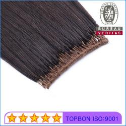 100% Humano Virgen Extensiones de Cabello Remy Feather Hair/sin pelo de punta
