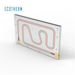 サーマル冷却アルミニウム製液体コールドプレートヒートシンク