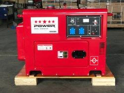 ホットセール 5kw 6kW 7kW 三相サイレントディーゼル発電機 中国から