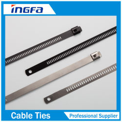 L'échelle 304/316 seul Barb attache de câble en acier inoxydable