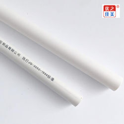 Heißer Verkauf weißes Belüftung-Kabelrohr-elektrisches Produkt-Kabel-Kanal-Draht-Rohr