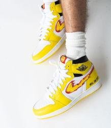 L'alta qualità personalizzata di marchio calza il pattino di modo delle scarpe da tennis