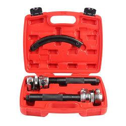 自動車コイルばねの圧縮機の工具セット