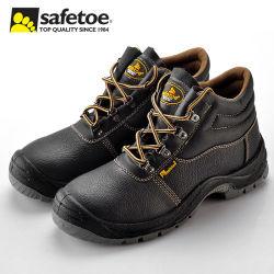 Echte antistatische veiligheidslaarzen van lederen stalen teen Fabrikant voor industrieel werk, CE S3 Oil & Heat Resistant Working Safety Boots for men and Women
