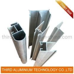 6063/6061 di finestra della stoffa per tendine di serie della Sudafrica della lega di alluminio seziona l'alluminio di profilo per materiale da costruzione