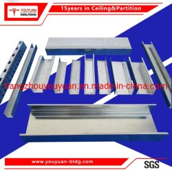 Gipskarton Drywall Trennwand Metallkanal Verzinkter Stahl Wandrahmen Track and Stud
