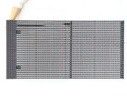 ستائر فيديو LED كاملة الألوان لشاشة الشبكة الخارجية الذكية P31.25 مم الشاشة