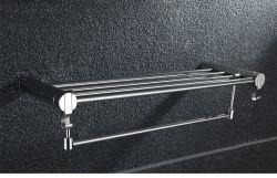 浴室のアクセサリはマットの黒の終わりの壁のトイレットペーパーホールダータオル棒棚のブラシホルダの浴室のハードウェアセットをセットした