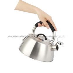 teiera di induzione della stufa di gas del POT della caldaia di fischio dell'acqua della caldaia della stufa 2.7L