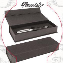 Защелкивающаяся картона черного цвета в подарочной упаковке пера магнитное поле