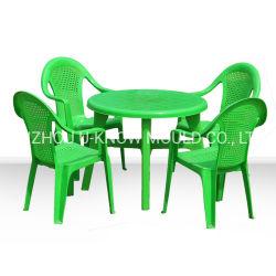 Rectangle de moule en plastique pour une table à manger et chaises de moulage par injection