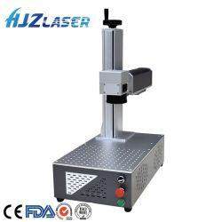 에칭 금속 Raycus Mopa Jpt 최대 레이저 소스를 가진 플라스틱 전화 상자 은 금을%s 한세트 작은 Laser 표하기 조각 기계