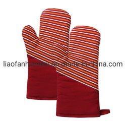 Manopla de silicona con un forro acolchado flexible antideslizante guantes para horno, el neopreno Manopla