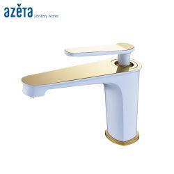 Санитарные продовольственный туалетом одной ручки латунные ванной комнаты с раковиной раковину смеситель струей воды бассейна под струей горячей воды