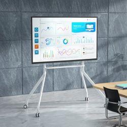 화상 회의 솔루션용 휴대용 대화형 화이트보드 스탠드