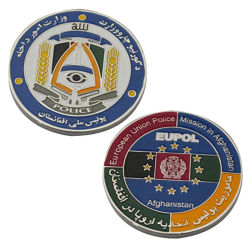 中国の製造業者メーカーのカスタムロゴの記念するエナメルの軍隊CIA 3Dの金属の骨董品の記念品の金の軍隊は昇進のギフトのための銀製の警察の挑戦硬貨を与える