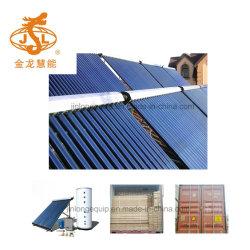 Collettore a energia solare del sistema (riscaldatore di acqua calda solare dell'acciaio inossidabile)