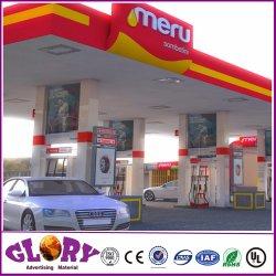 De Vertoning van de Prijs van de Post van de Benzine van het Teken van het LEIDENE Benzinestation van het Gas