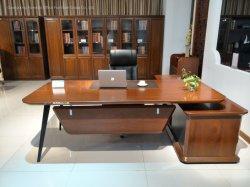 Ordinateur de placage de MDF Wolden moderne Table des cadres de mobilier de bureau