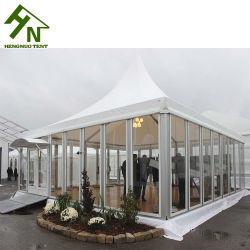 새로운 디자인 유리제 문을%s 가진 옥외 당 Pagoda 천막