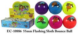 مضحكة لعب [55مّ] يبرق وثب كرة بلاستيك كرة