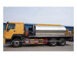 HOWO 15 Ton Camión Distribuidor de asfalto inteligente