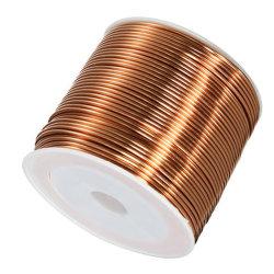 エナメルを塗られた銅線