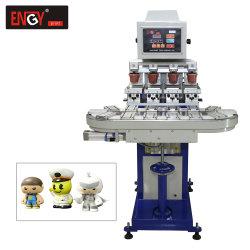 熱い販売の工場Legosのおもちゃのための空気の4つのカラーコンベヤーのパッドプリンター