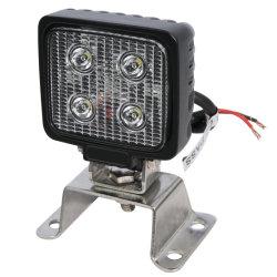 12W 3pouce lampe LED 6500K 12V 24V DC voyant des feux de travail pour la voiture remorque de camion SUV ATV Offroad bateau