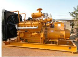 Grupos electrógenos industriales de alta calidad China Lvhuan 150kw de chips de madera y biomasa de cultivos de grupo electrógeno de Gas enfriado por agua Fow mini cocina de planta de energía