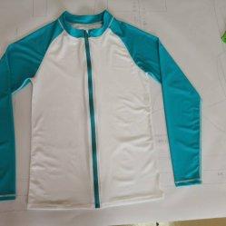 Com Zip Braços Azul e Branco Corpo Nylon mergulho adequados para homens Surf