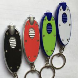 Lampada Pesce-A forma di del LED Keychain che fa pubblicità al piccolo indicatore luminoso di tasto del regalo di promozione