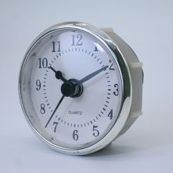 Ronda de 56 mm de pared de plástico Relojes Reloj Digital árabe Insertar Insertar