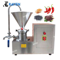 Verkaufsschlager-Sesam-Pasten-Maschinen-Erdnuss-Paprika-reibende Paste, die Maschinen-Kolloid-Tausendstel bildet