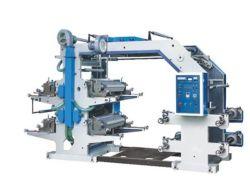 Высокая скорость четыре цвета Flexographic печатной машины