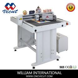 Digitaler Schneid- und Knittermaschinen-Papierkarton Flachbett Automatischer Druckschneider