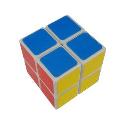 2019プラスチック多彩な注入型の魔法の立方体のロゴの習慣の立方体