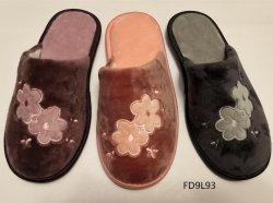 Novo Estilo de senhoras Fechada Toe Interior Têxteis chinelos para Mulheres