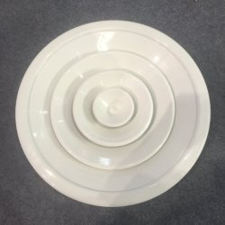 La Chine usine Ventech Échantillon gratuit plafond Circulaire Diffuseur Air de retour ronde de l'air